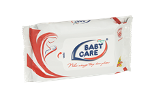 BABY CARE WET WIPES 30 SHEETS POWDER PERFUME