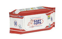 BABY CARE WET WIPES 80 SHEETS UNSCENTED
