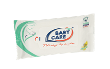 BABY CARE WET WIPES 10 SHEETS UNSCENTED